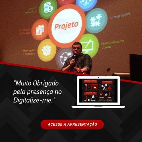 CEO da F1 Soluções ressalta planejamento, monitoramento e retenção de clientes em palestra do Digitalize-me