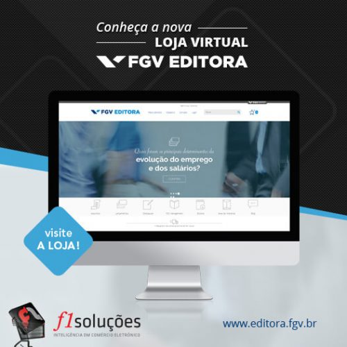 Conheça a nova loja virtual da FGV Editora