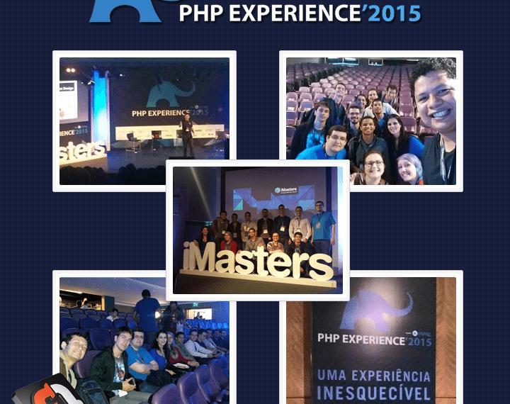 Equipe F1 Soluções no PHP Experience 2015 SP