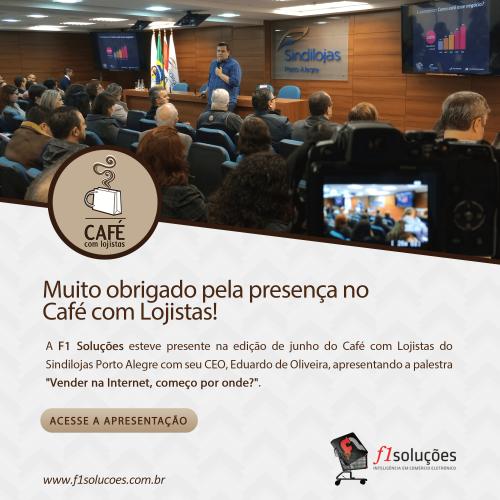 CEO da F1 Soluções aborda crescimento de e-commerce em palestra