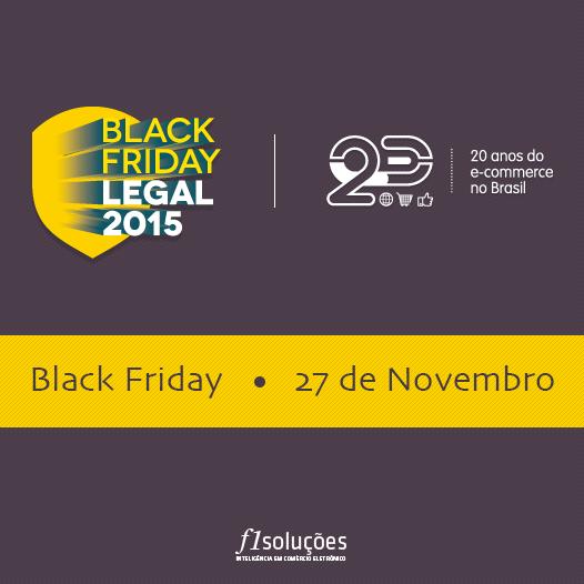 Inscrições abertas para o selo Black Friday Legal 2015