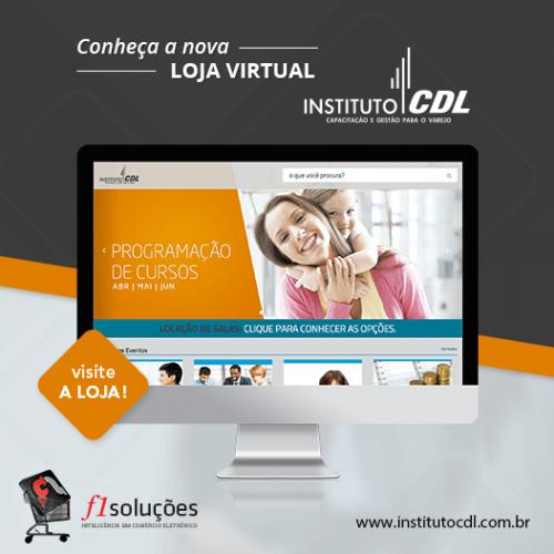 Conheça a nova loja virtual do Instituto CDL