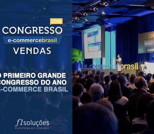F1 Soluções no Congresso E-Commerce Brasil Vendas