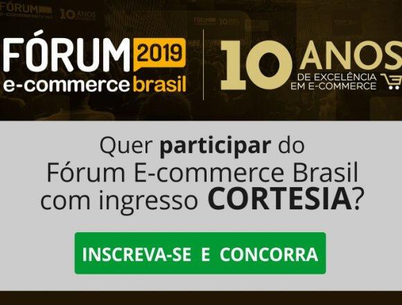 Quer participar do Fórum E-commerce Brasil 2019 com ingresso cortesia?